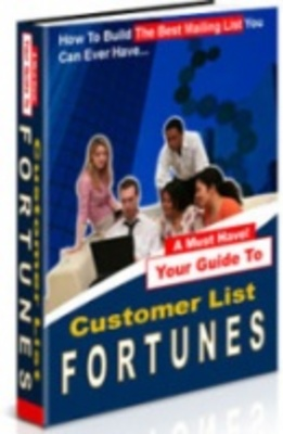 Product picture Customer List Fortunes - Build the best mailing list